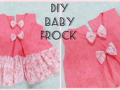 b73a75817898 Top famous and stylish summer baby frocks cutting and stitching tutorial  for eid.stylish baby