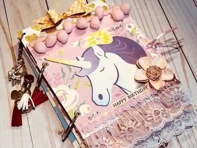 Unicorn Mini Album - Super quick and easy