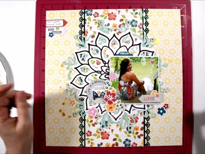 Be You - Scrapbook Process Video and Giveaway