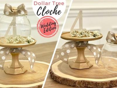 Cloche DIY | Wedding Table # Idea ⛪️ | Dollar Tree DIY | Budget Friendly | Ashleigh Lauren Tutorials
