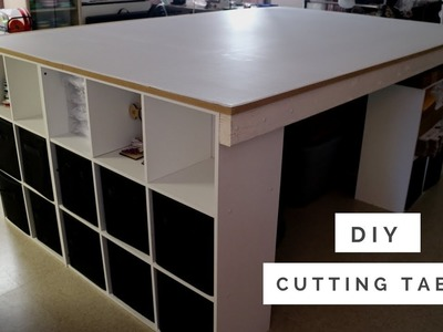 DIY: Cutting Table For Sewing Room | Yesenia
