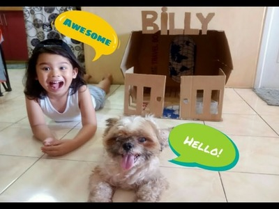 DIY Dog House out of A Balikbayan Box I DIY Project