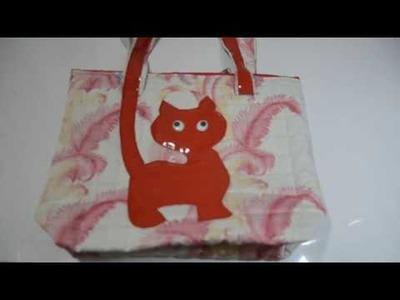 DIY SHOULDER BAG FOR GIRLS.किशोरियों की पसन्द  का बैग बनायें