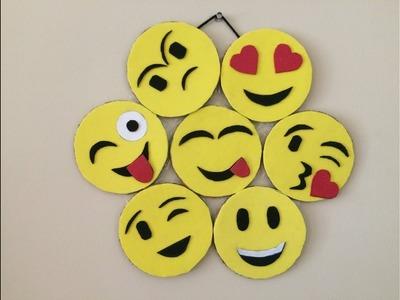 DIY Smiley Emojis Room Decor