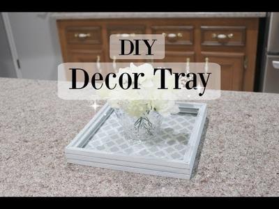 DOLLAR TREE DECOR TRAY | DIY | Rustic Look