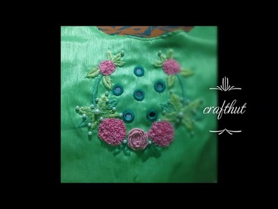 Simple Neck Embroidery Designs For Blouse Best Blouse 2018