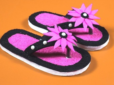 HOW TO MAKE DIY FLIP FLOPS FOR KIDS