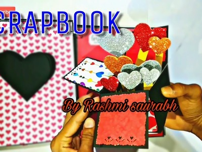 SCRAPBOOK For birthday || for bf gf || for anniversary || SCRAPBOOK ideas