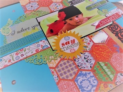SCRAPBOOK PAGES CUT , PASTE AND CREATE NATIONAL SCRAP-BOOKING DAY-2018