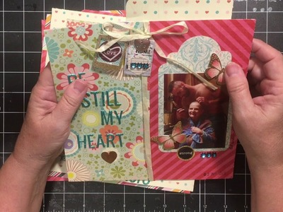 Scrapbook pages for throw back Thursday