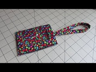 Sew Your Own Luggage Tag with Fabric - a DIY Project