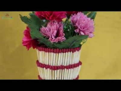 WOW! Amazing Matchstick Craft Ideas || Best Reuse Ideas for Home Decor - DIY arts and crafts #NR-220