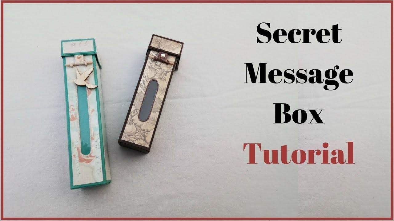 20 Rs Diy Gift Idea Handmade Gift Box For Boyfriend How To Make A