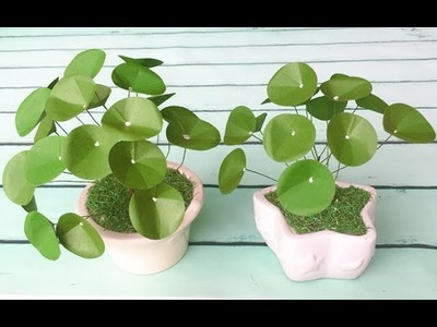 ABC TV | How To Make Chinese Money Plant With Shape Punch - Craft Tutorial
