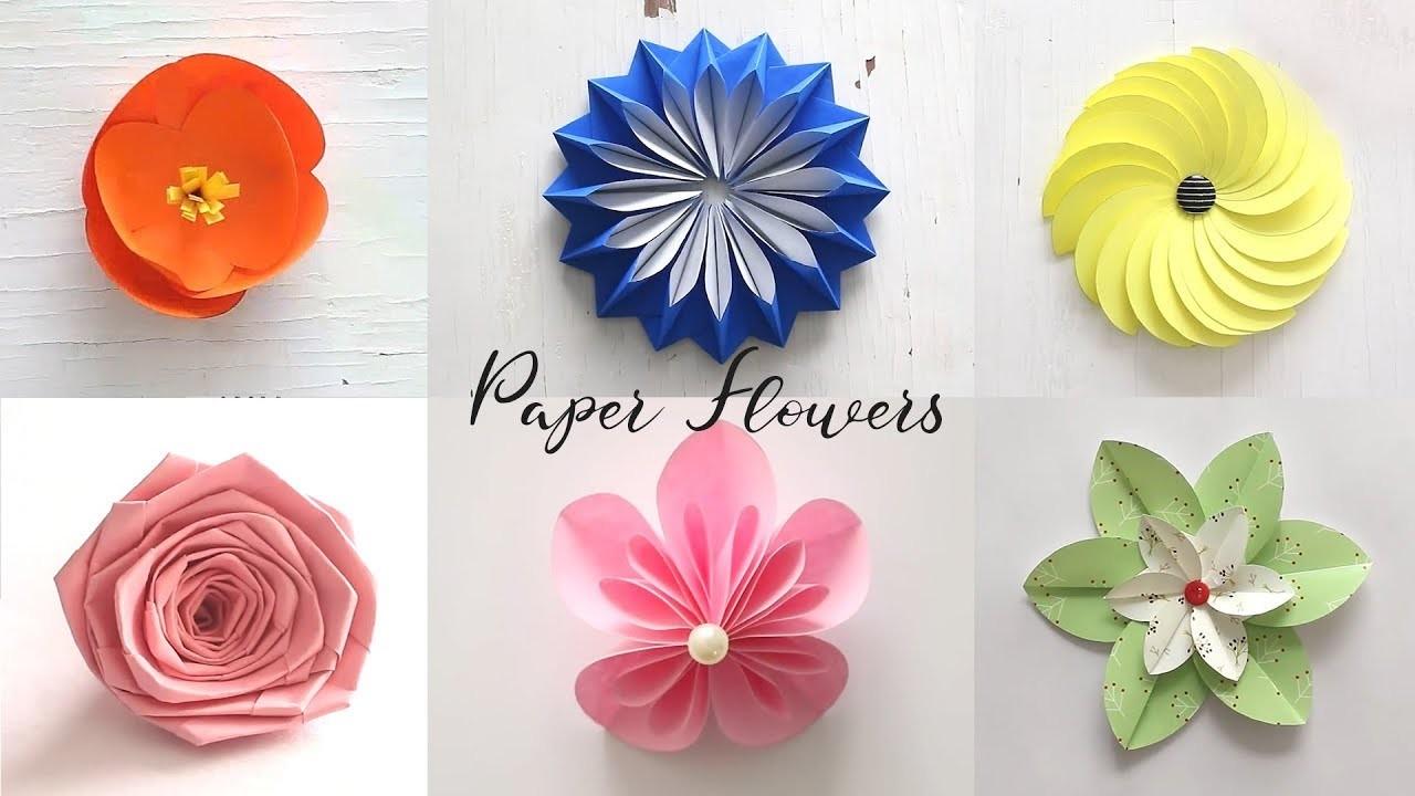 Best of last summer 6 easy paper flowers diy craft ideas best of last summer 6 easy paper flowers diy craft ideas mightylinksfo