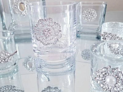 DIY | $1.00 - $2.99 CANDLE HOLDERS | HOME DECOR | FEATURING TOTALLY DAZZLED 2018