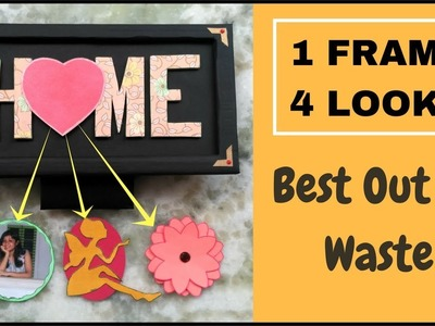 DIY Crafts Ideas for Decoration| BEST OUT of WASTE Craft Idea with Cardboard | DIY Room Decor