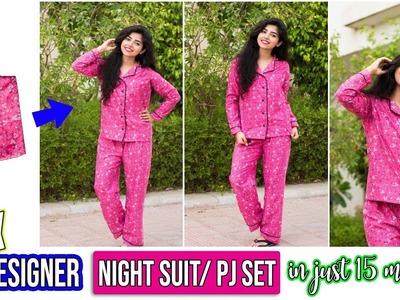 DIY: Designer Pajama Set Easily At Home! In Just 15 Minutes!