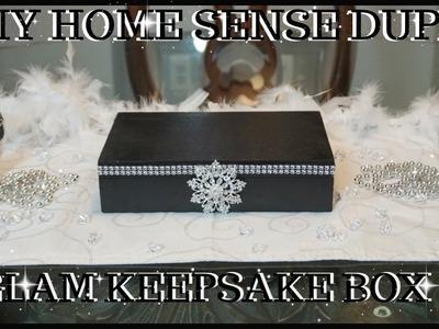 DIY GLAM HOME SENSE DUPE JEWELRY. KEEPSAKE BOX