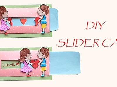 DIY love slider Card. how to make love card