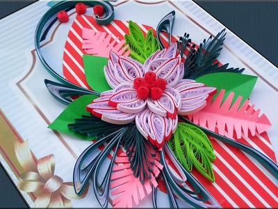 DIY | Quilling Card | Step by Step Quilling Birthday Greeting Card | Paper Quilling Art