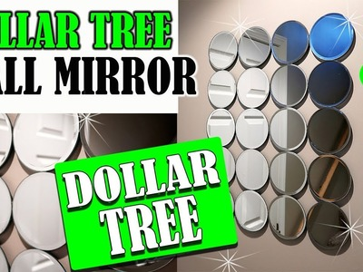 Dollar Tree DIY Wall Mirror - Home Decor Project