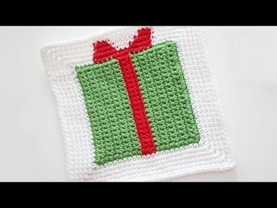 Gift Box Granny Square