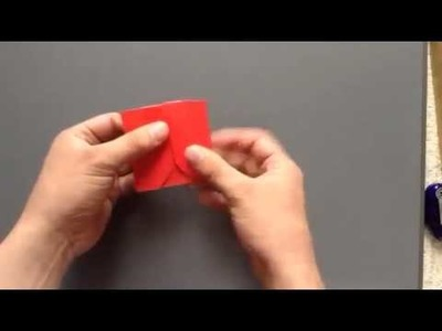 How to make a origami Apple