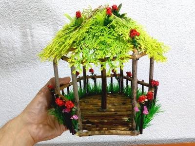 How to make beautiful fairy wood tree house