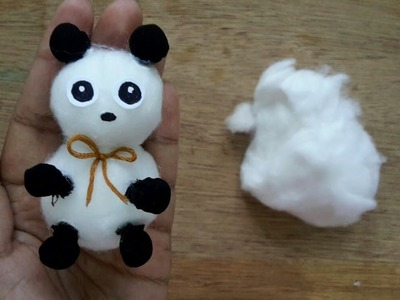 How to make cotton doll.diy cotton doll.Handmade doll tutorial.easy crafts idea