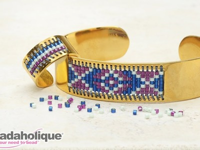 How to Make the Beaded Centerline Bracelet and Ring Set - An Exclusive Beadaholique Kit