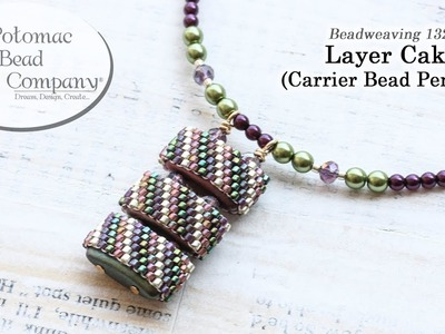 Layer Cake Carrier Bead Pendant