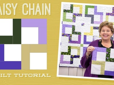 """Make a """"Daisy Chain"""" Quilt with Jenny!"""