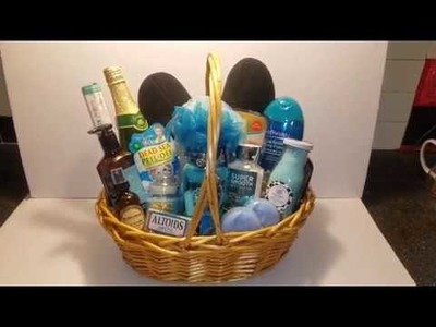 Mother's Day Spa.Relaxation Gift Basket Idea