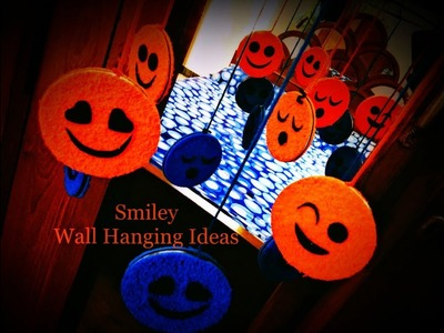 New 2018 Smiley Wind Chime Wall Hanging Ideas | Recycle your Old Bangles - Best Out Of Waste
