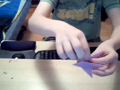 Origami-how to make a 7 pointed shuriken