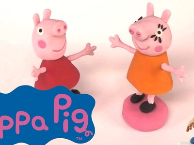Peppa and Mummy Pig - Peppa Pig 1 | PLAY DOH | PLAY with CLAY