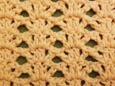 The Fern Lace Stitch Crochet Tutorial!