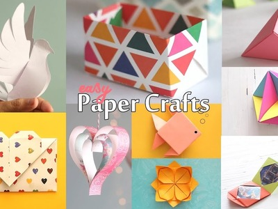 10 Best Paper Crafts | DIY Paper Craft | Ventuno Art