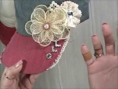 2018 Summer Bazaar diy Craft Series: Vid#1: Shabby Hats
