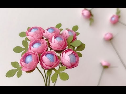 Abc tv how to make miniature paper flower with shape punch craft abc tv how to make miniature paper flower with shape punch craft tutorial mightylinksfo