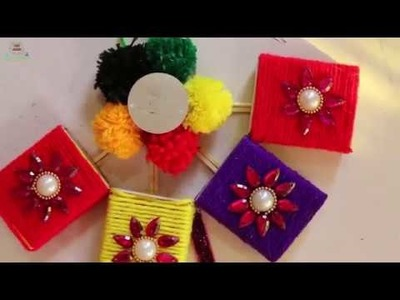 Amazing! Craft Ideas Using Match Box || Waste out of best | showpiece from matches - recycling idea