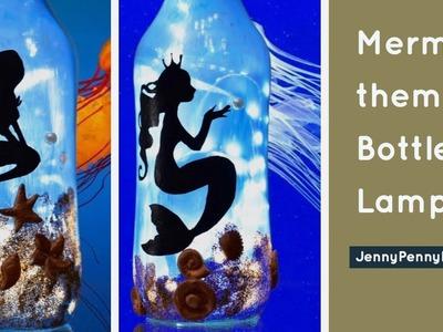 Bottle decorating ideas| diwali decoration| Chirstmas decoration|bottle art|bottle craft|mermaid
