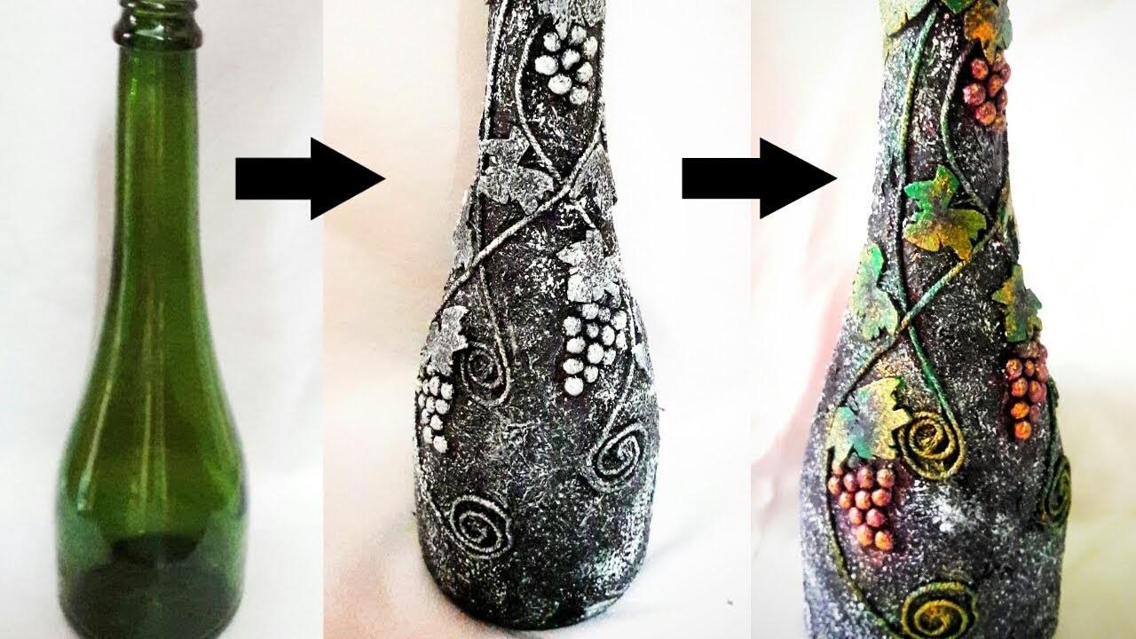 Bottle Decorating Ideas Diy Bottle Craft Bottle Decoration Bottle