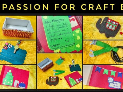 Brand New super cute Craft Box @ 399| Discount Code |Unboxing and Review |My Passion for Craft Box
