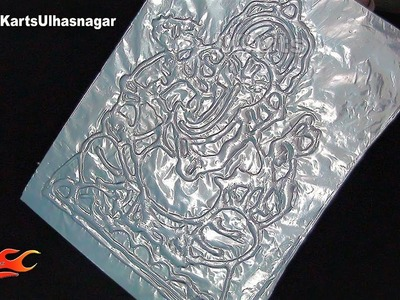 Craft with Foil Paper and Glue  | JK Arts1421