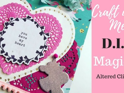 Craft With Me : D.I.Y Magical Altered Clipboard