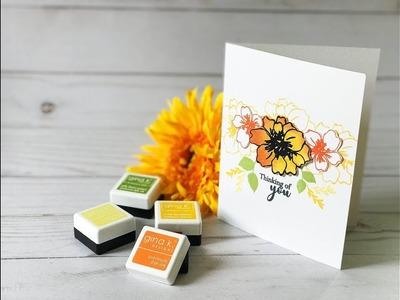 Craft Your Joy Card Tutorial: Sunflower Inspired Simple Card Design