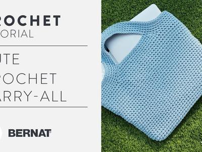 Cute Crochet Carry-All