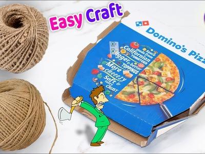 DIY Best easy Craft Idea.Best reuse of Waste jute Craft Idea | Handmade craft | Home Decor 2018